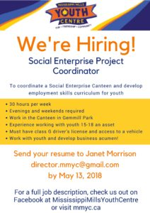 Social Enterprise Project Coordinator