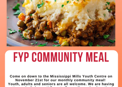 FYP Community Meal