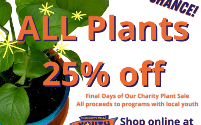 25% OFF ALL PLANTS!