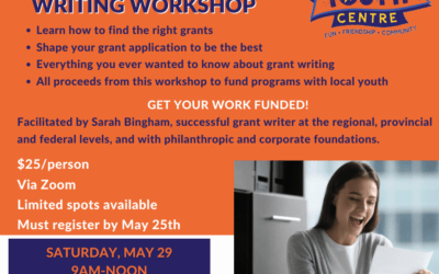 Grant Writing Workshop May 29th
