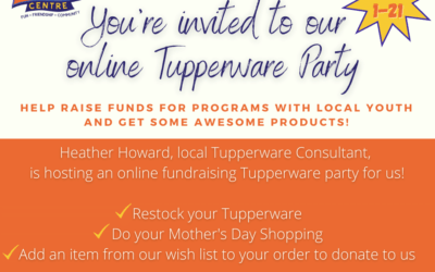 Online Tupperware Party and Our Tupperware Wish List